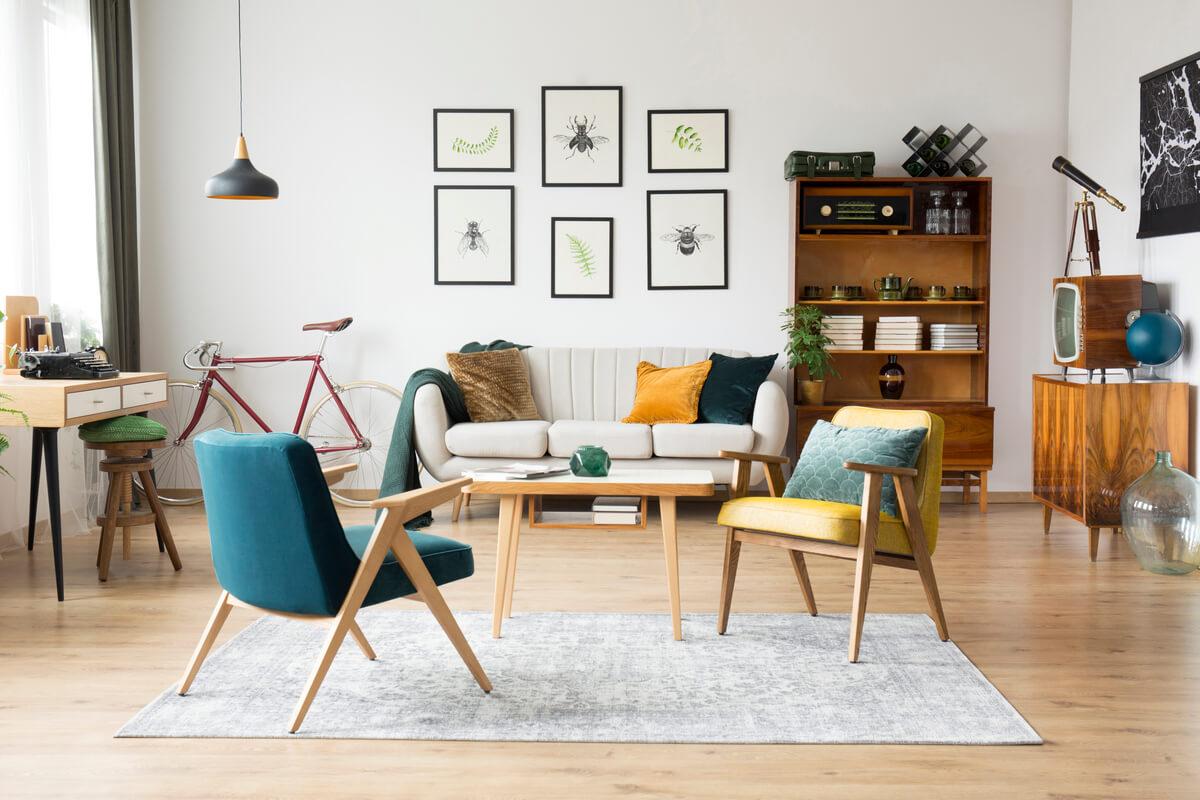 Wohnen im Stil der 16er Jahre – die Retro Möbel