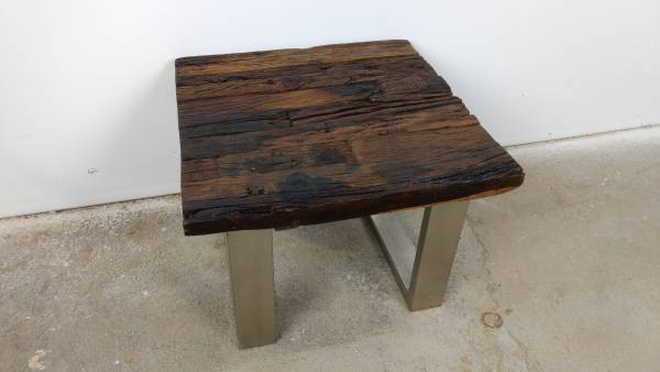 coffee table living room table lounge table ozzy driftwood wood used shabby chic ebay. Black Bedroom Furniture Sets. Home Design Ideas