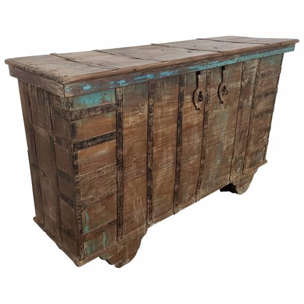 grosse holztruhe truhe hochzeitstruhe vintage massivholz altholz turen unikat