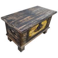 Holztruhe Vintage Truhe Holz Shabby Kiste Holzkiste Box Lagerung Massiv Unikat 30