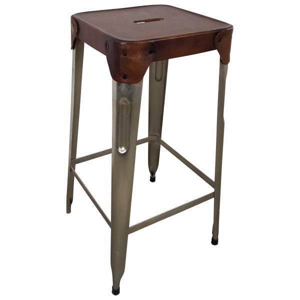 Barhocker Barstuhl Tresenhocker Stapelbar Lounge Tresen-Stuhl Küchen-Hocker IT10141