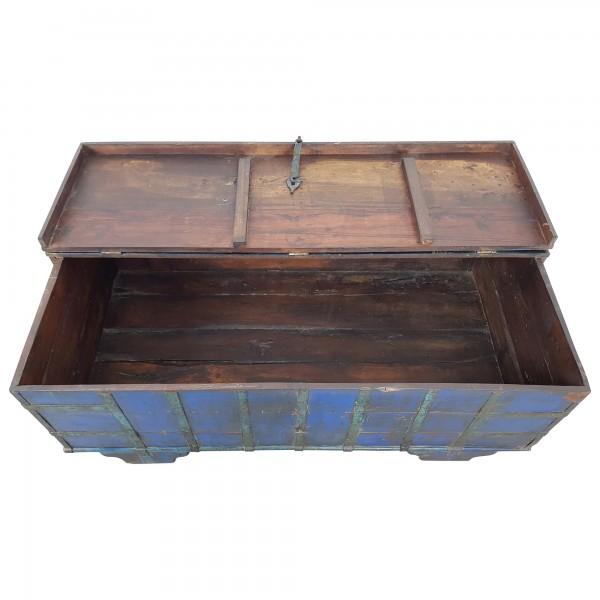 truhen tisch couchtisch holz kiste wohnzimmertisch aufbewahrung vintage massiv ebay. Black Bedroom Furniture Sets. Home Design Ideas