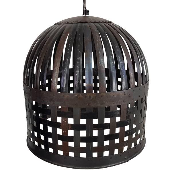 Pendelleuchte Hängelampe Deckenlampe Deckenleuchte Rund Metall Industrie Design
