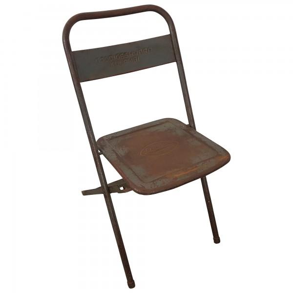 Klappstuhl designklassiker  Klappstuhl Metall Stuhl Gastro Bistro Industrial Style Used Look ...