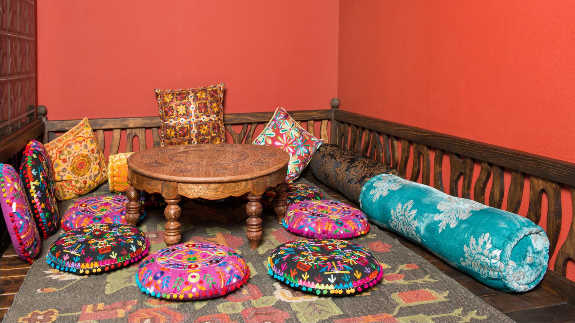 wohnideen orientalischen stil. Black Bedroom Furniture Sets. Home Design Ideas