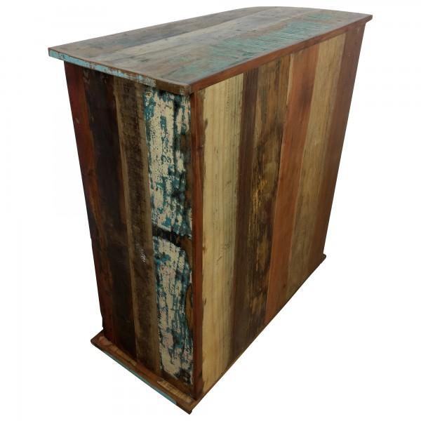 kommode sideboard schrank anrichte tata front industrial design loft metall holz ebay. Black Bedroom Furniture Sets. Home Design Ideas