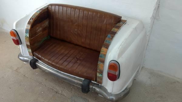 Autosofa Auto Couch M Bel Sofa Sitzbank Als 2 Sitzer