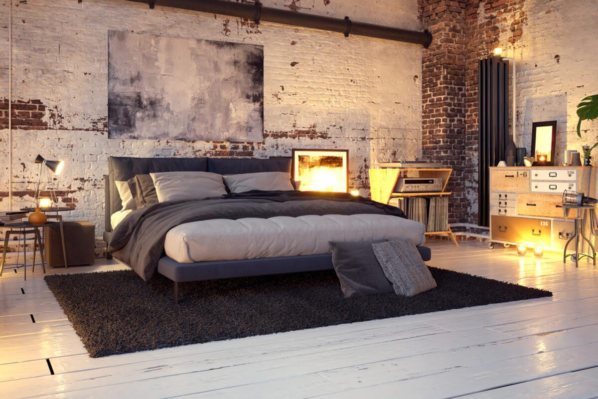 Alt und Modern 7 Tipps für dein Schlafzimmer im Industrialdesign