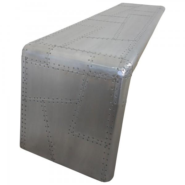 Finest Couchtisch Alu Sofatisch Loungetisch Aviator Tisch Silber Design  With Couchtisch Alu
